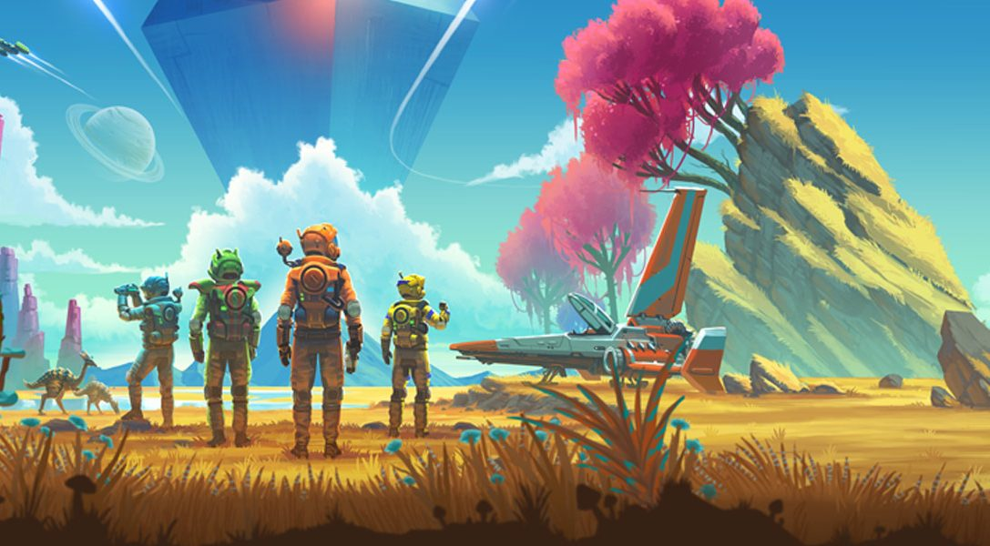 No Man's Sky NEXT — мультиплеер и режим от третьего лица появятся уже на следующей неделе