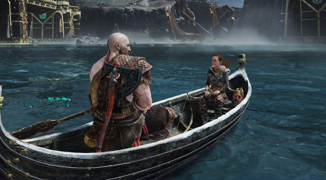 Как создавались путешествия на лодке в God of War