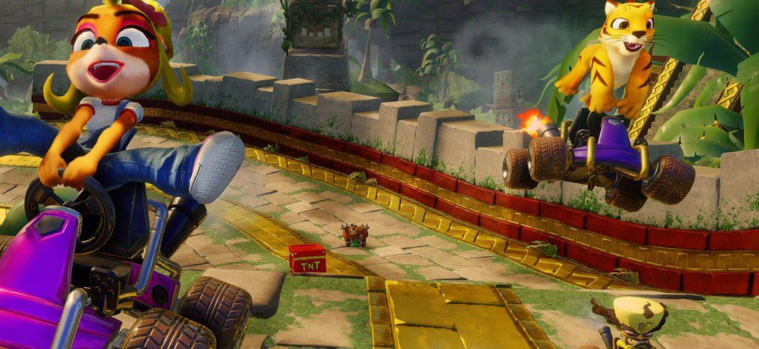 Crash Team Racing Nitro-Fueled стартует PS4 в 2019 году