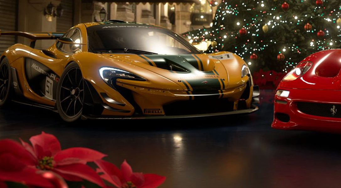 Декабрьское обновление GT Sport: новая трасса, семь новых автомобилей и функция «Сезонные виды»
