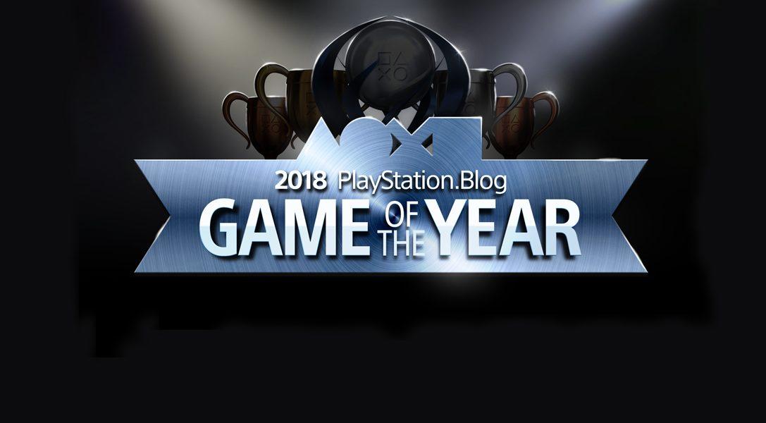 Голосование за лучшие игры 2018 года от блога PlayStation