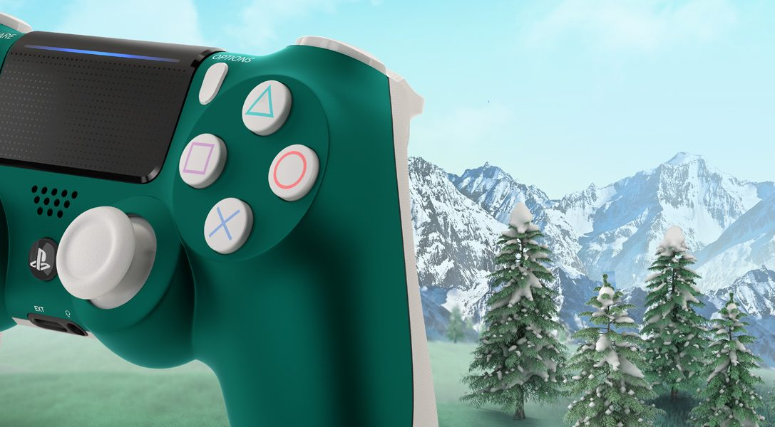 Представляем новый DualShock 4 в расцветке «Альпийский зеленый»