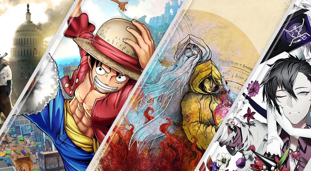 Новинки недели в PlayStation Store: Tom Clancy's The Division 2 и One Piece World Seeker