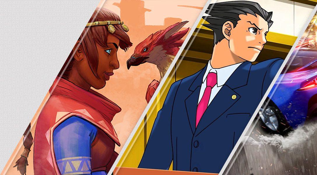 Новинки недели в PlayStation Store: Falcon Age и Phoenix Wright: Ace Attorney Trilogy
