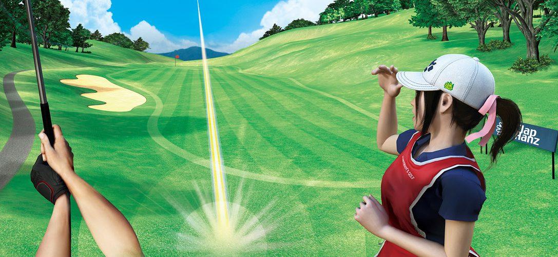 Стала доступна демоверсия Everybody's Golf
