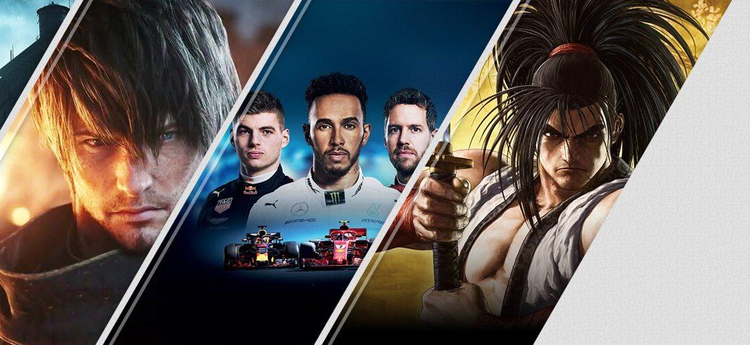Новинки недели в PlayStation Store: The Sinking City, Final Fantasy XIV: Shadowbringers и F1 2019