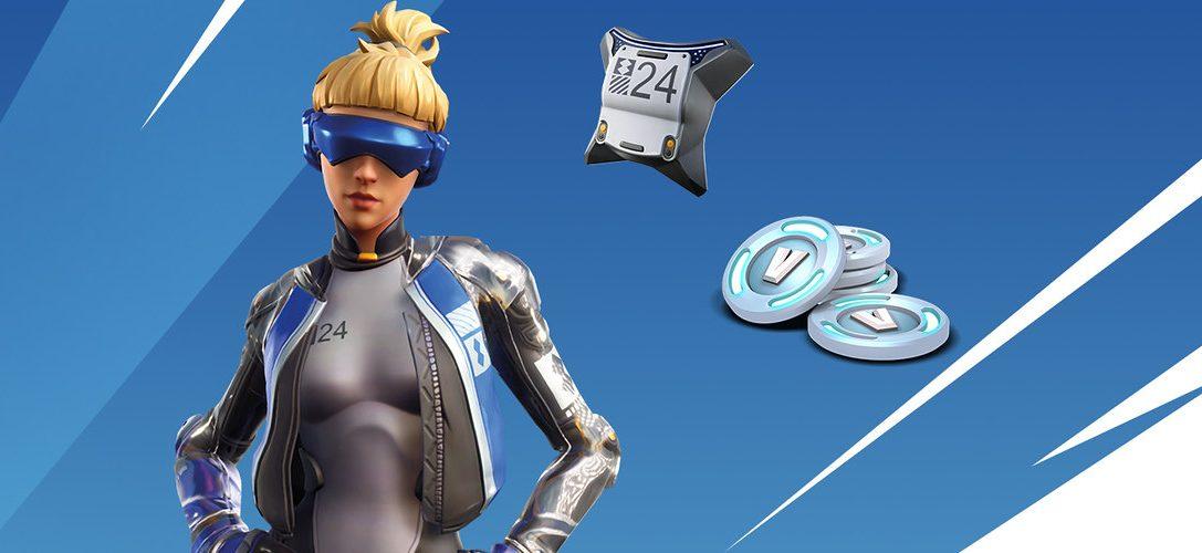 Получите эксклюзивные материалы для Fortnite в новых наборах для PlayStation