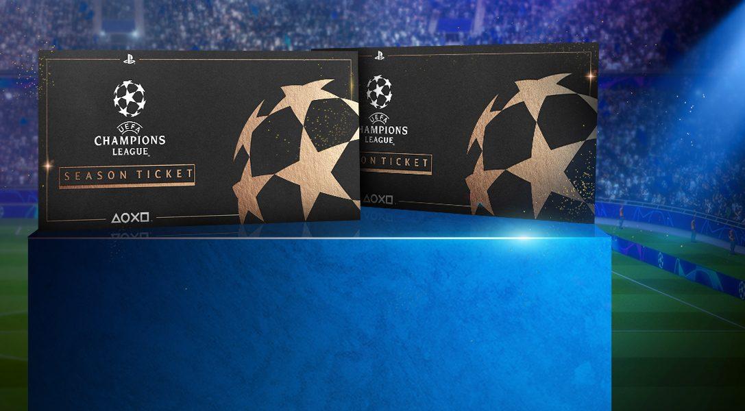 Выиграйте два билета на Лигу чемпионов УЕФА в масштабном конкурсе PlayStation F.C.