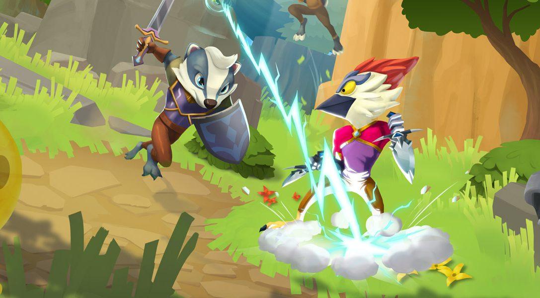 Большие боссы и оригинальные мини-игры ожидают вас в приключении ReadySet Heroes