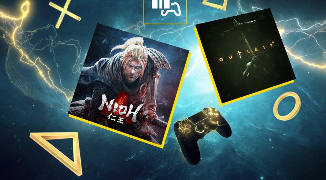 Ноябрь в PlayStation Plus: Nioh и Outlast 2