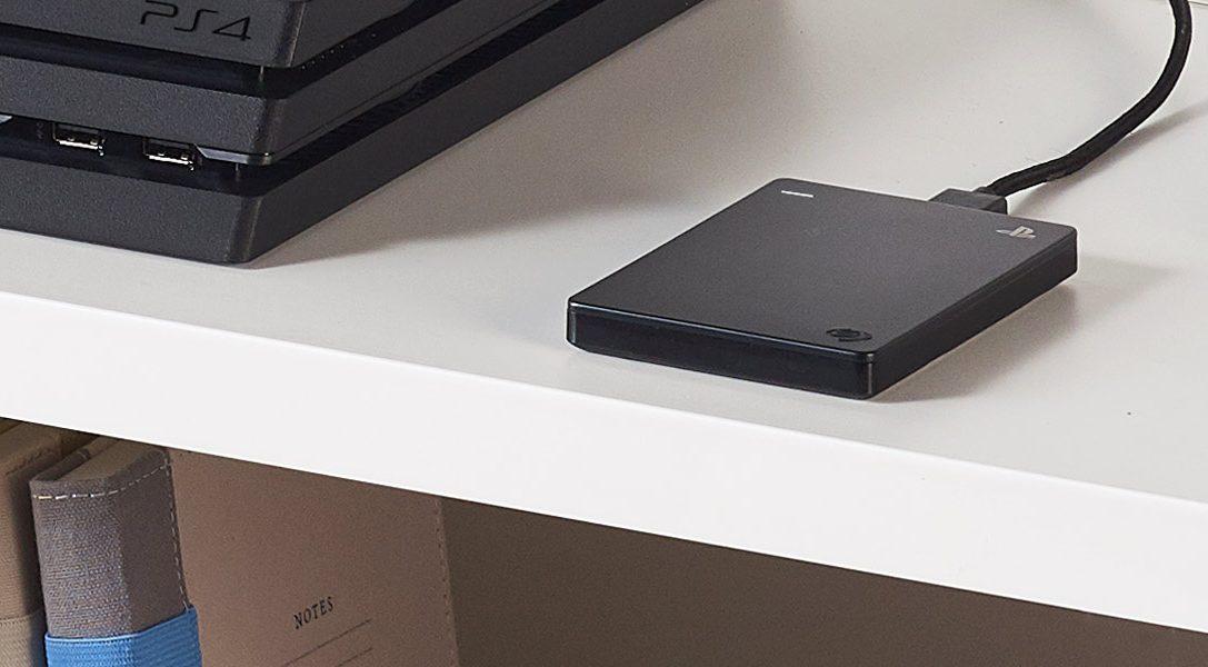 Игровой жесткий диск Seagate на 2 Тб для PS4 скоро поступит в продажу