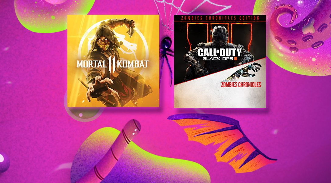 В PlayStation Store началась Хэллоуинская распродажа!