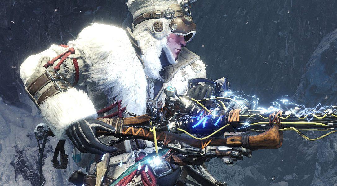 Новое снаряжение, вдохновленное Horizon Zero Dawn: The Frozen Wilds, стало доступно в Monster Hunter World: Iceborne