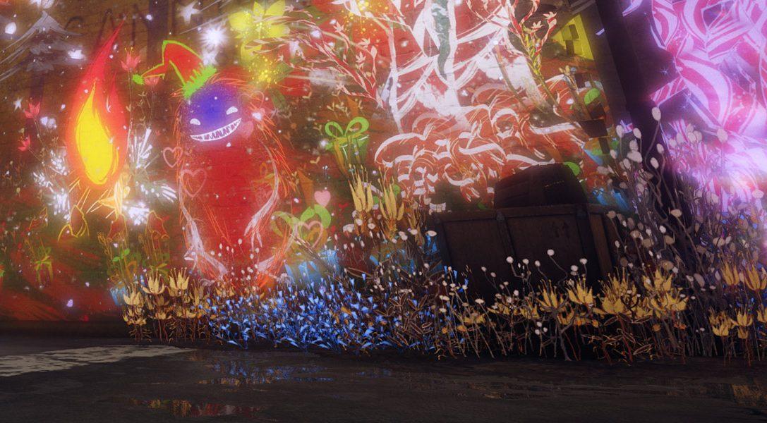 Украсьте мир «Городских духов» праздничными рисунками с помощью набора рождественских кистей