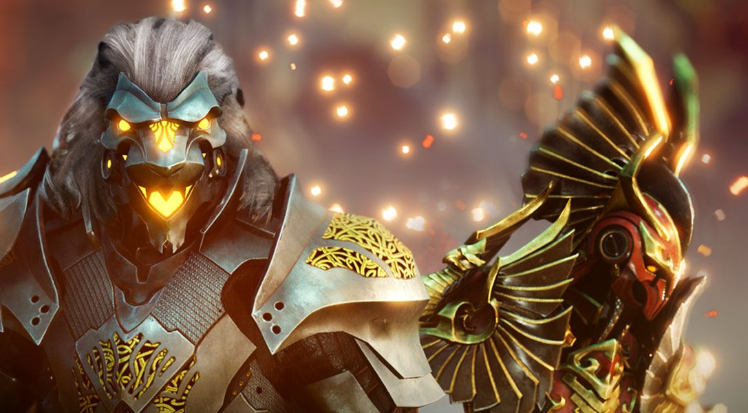 Godfall для PlayStation 5 — жанр слэшеров с горами добычи дебютирует на консоли следующего поколения
