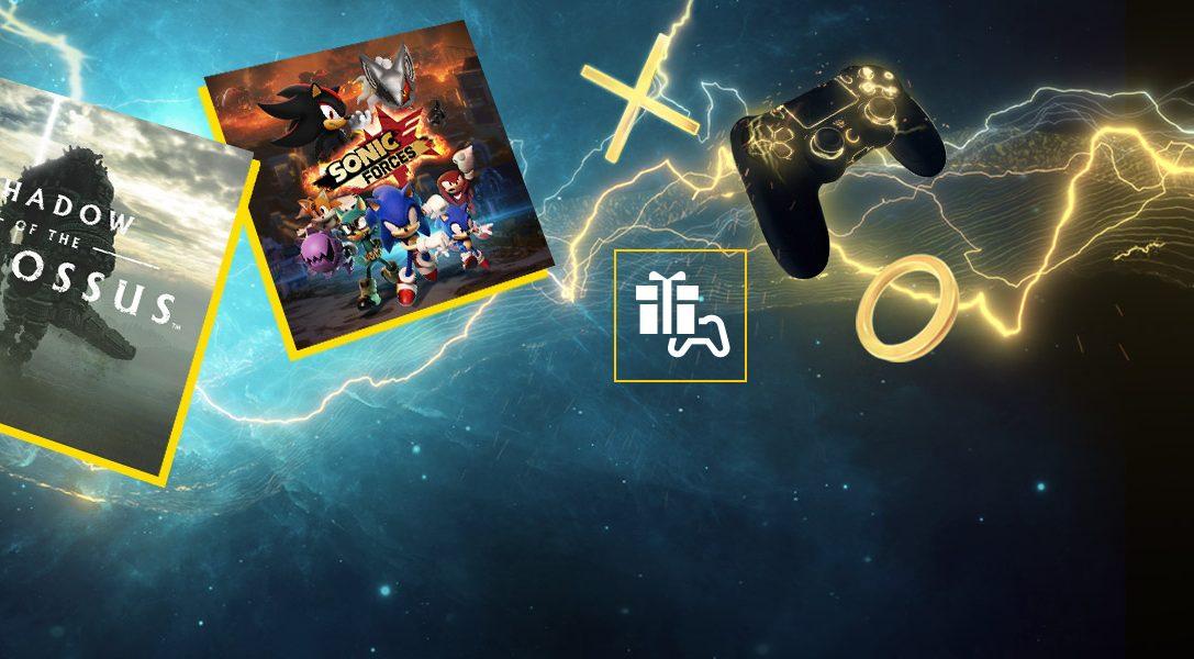 Март в PlayStation Plus: «Shadow of the Colossus. В тени колосса» и Sonic Forces