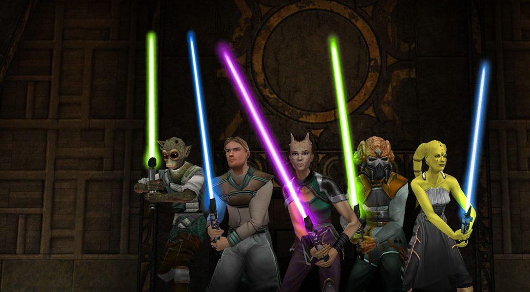 Star Wars Jedi Knight: Jedi Academy стала доступна на PlayStation 4