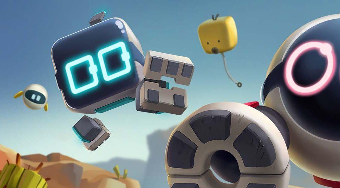 Игра про друзей-роботов Biped выйдет на PS4 8 апреля!