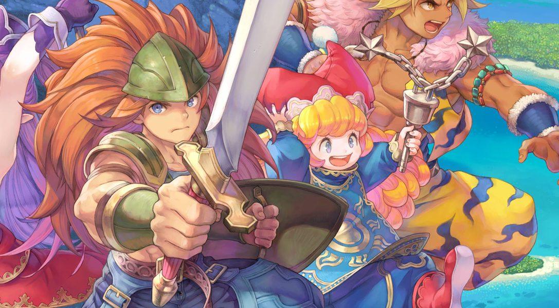 Узнайте о новинках и улучшениях Trials of Mana, на этой неделе выходящей на PS4