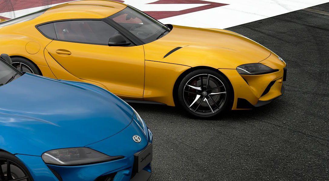 Toyota GR Supra RZ (N300) 2020 занимает свое место в гараже Gran Turismo Sport