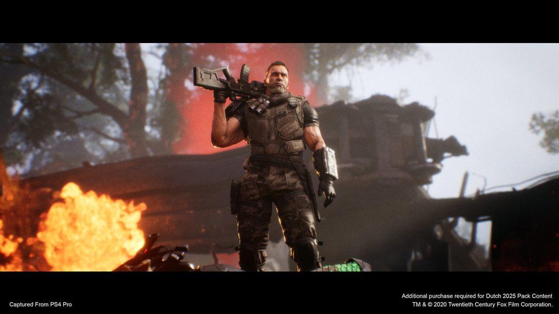 Датч прибывает в игру Predator: Hunting Grounds