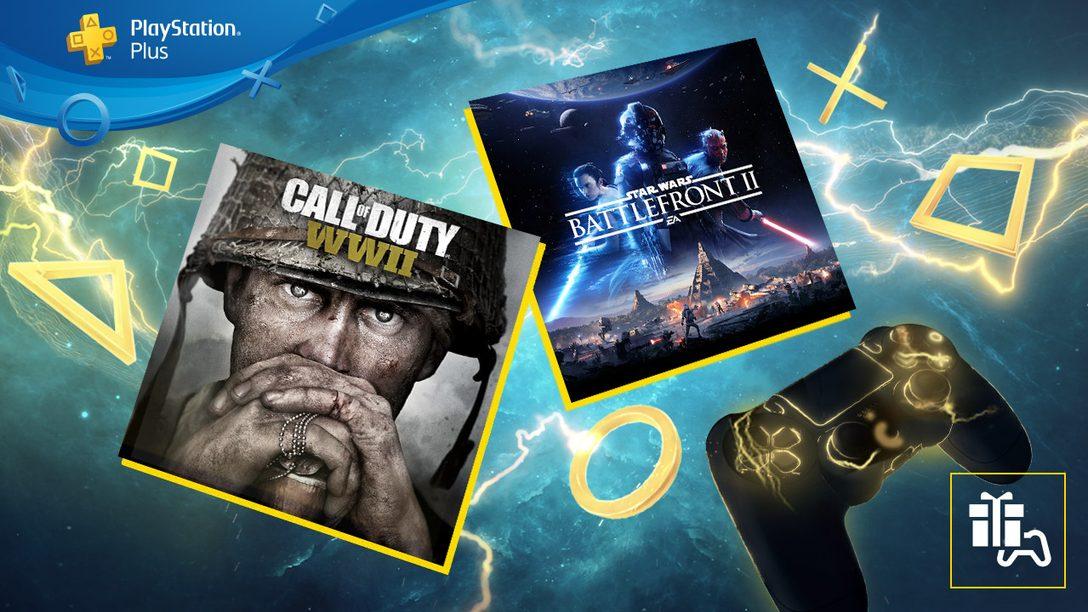 Июнь в PlayStation Plus: Star Wars Battlefront II и Call of Duty: WWII