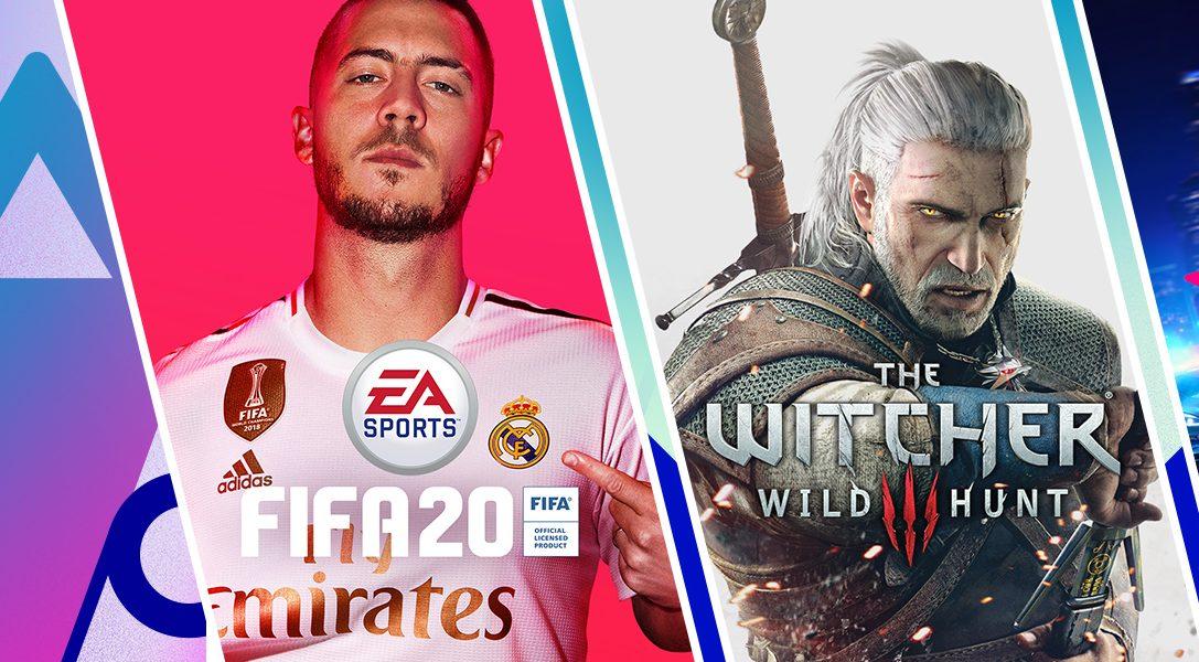 FIFA 20 Champions Edition, «Ведьмак 3: Дикая Охота — издание Игра года» и другие хиты в распродаже «Больше впечатлений» в PS Store