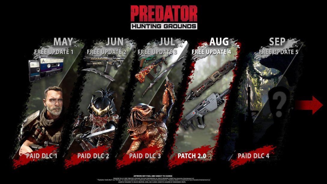 Predator: Hunting Grounds — новости за август