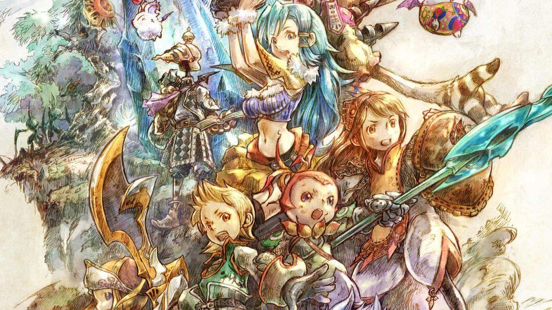 Знакомство с прекрасными визуальными наработками для обновленного издания Final Fantasy Crystal Chronicles