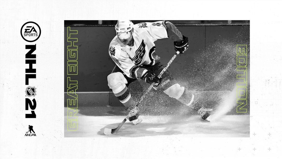 Александр Овечкин на обложке NHL 21