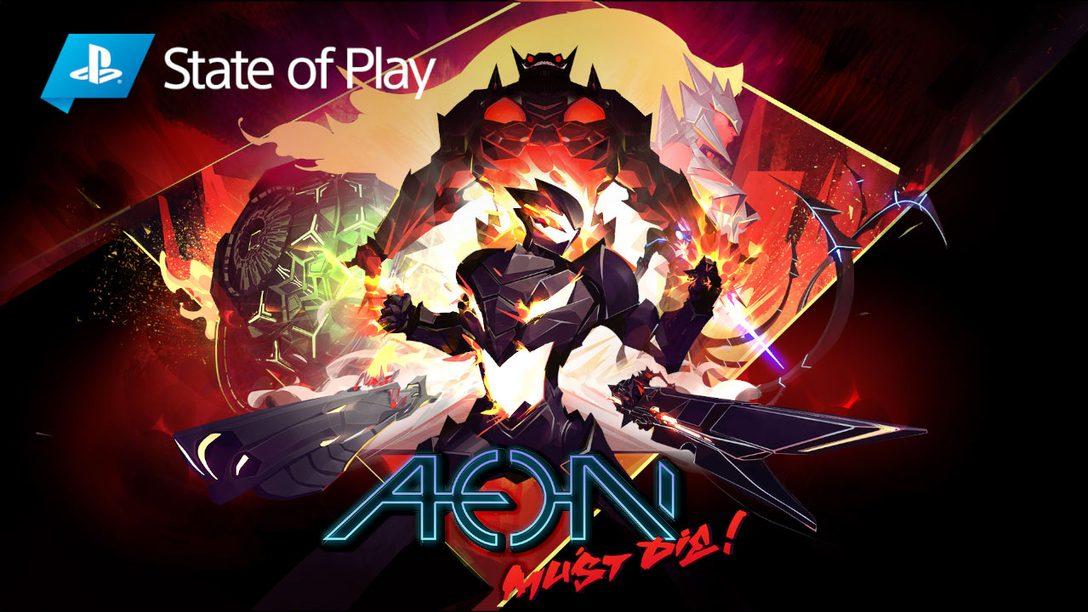 Исследуйте галактику в Aeon Must Die для PlayStation 4