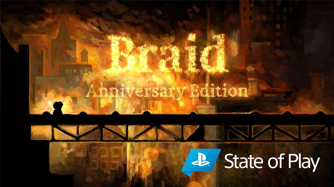 Braid, Anniversary Edition выйдет на PS4 и PS5