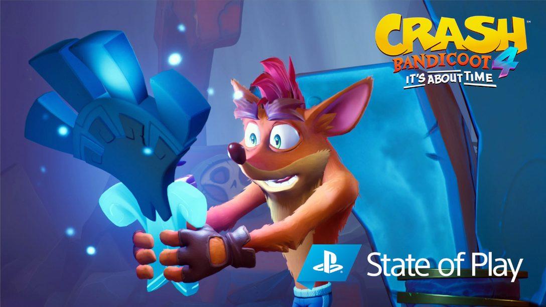 Подробности о новом режиме «Эн-Версия», игровых персонажах и других нововведений «Crash Bandicoot 4: Это вопрос времени»