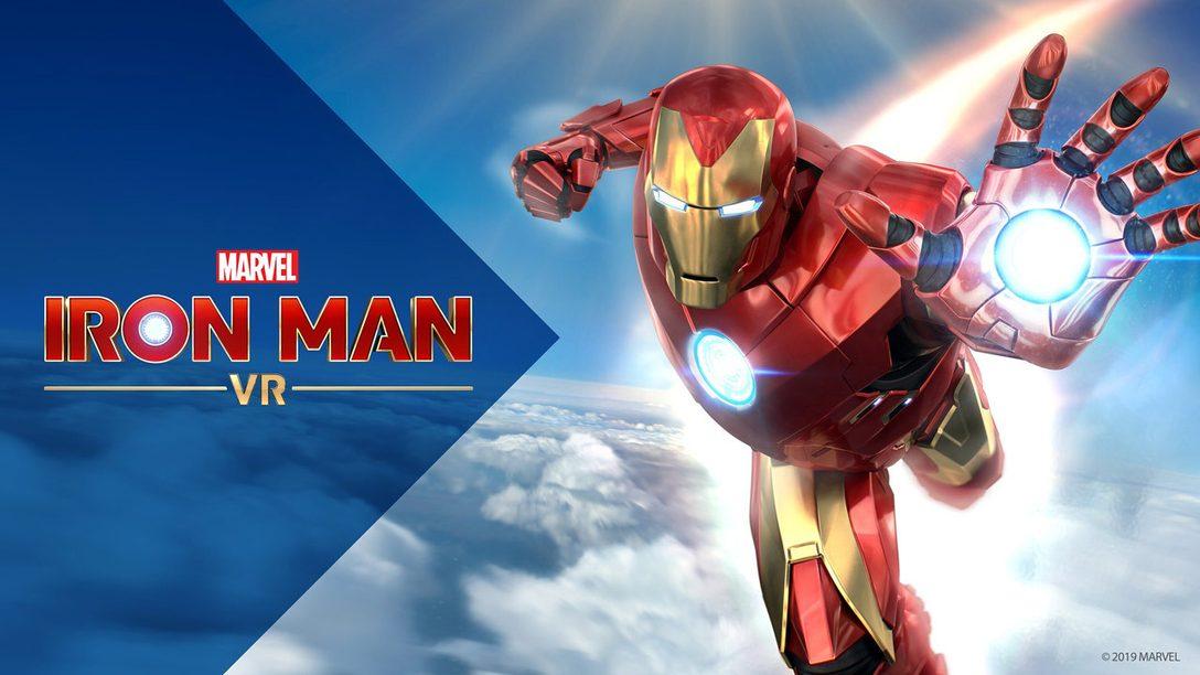 Бесплатное обновление для Marvel's Iron Man VR, включающее режим «Новая игра +», выходит сегодня
