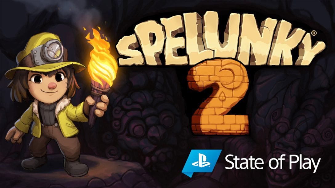 Spelunky 2 выйдет на PS4 15 сентября
