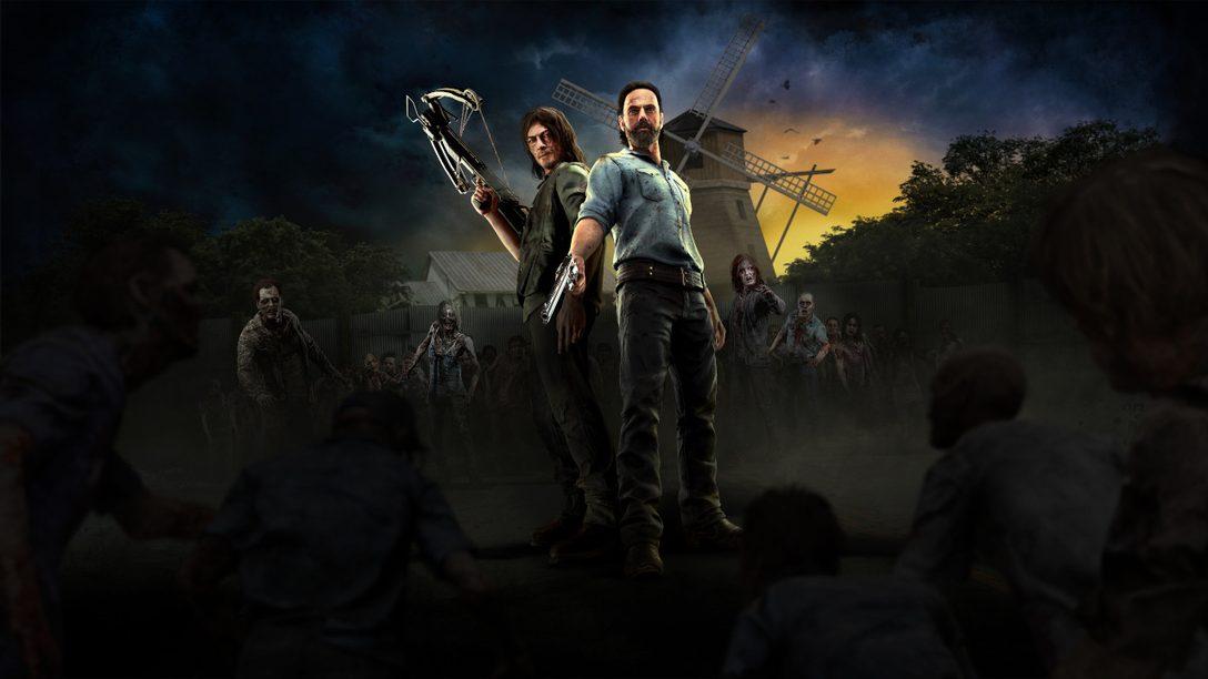 The Walking Dead Onslaught выйдет для PS VR 29 сентября