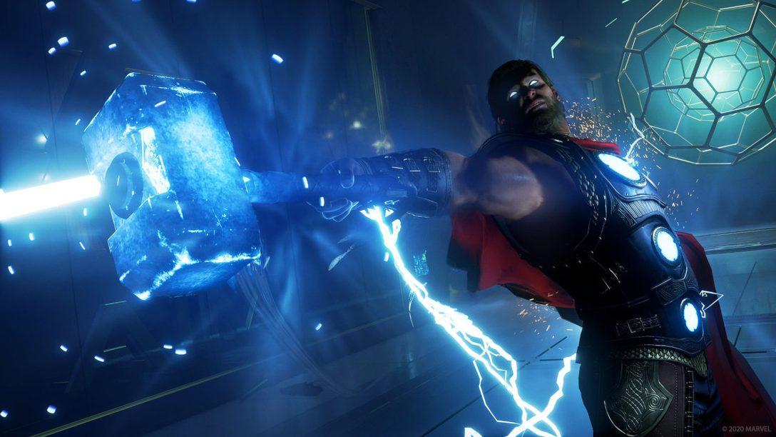 Встречайте первые выходные с игрой «Мстители Marvel», которая выйдет завтра на PS4