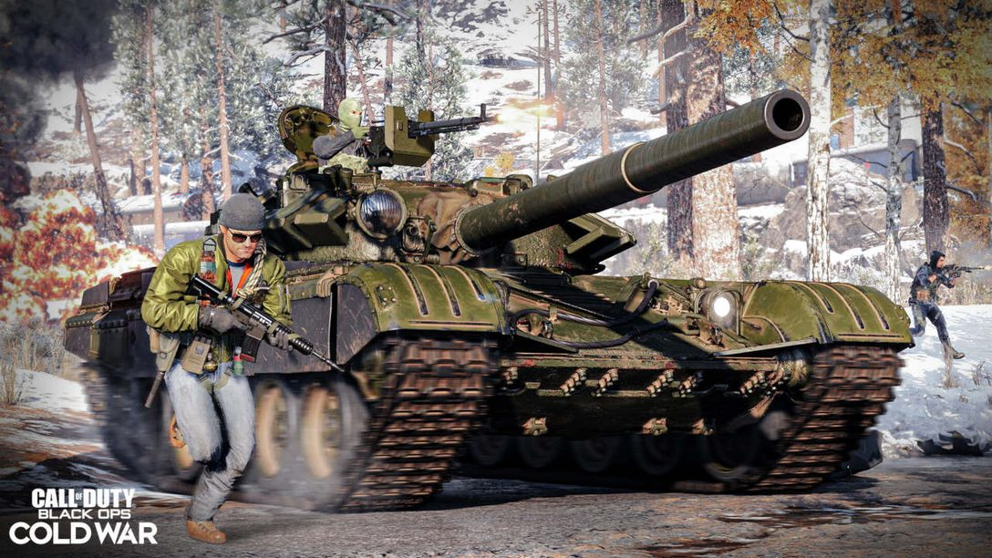 Многопользовательский режим Call of Duty: Black Ops Cold War