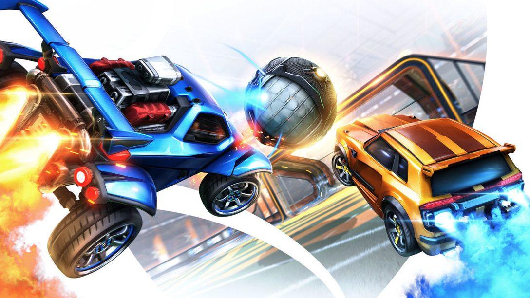 С 23 сентября в Rocket League® можно играть бесплатно