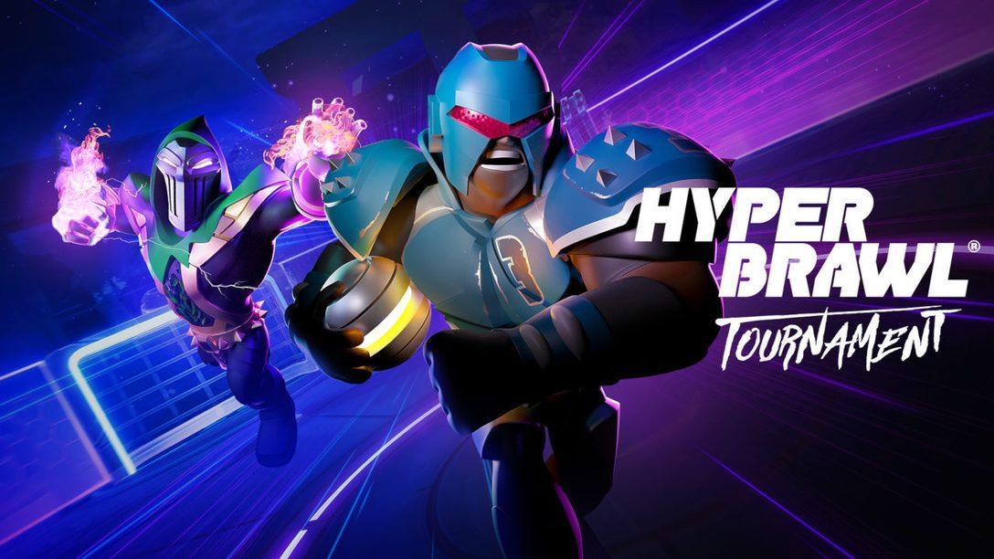 Бейтесь и забивайте зрелищные голы в HyperBrawl Tournament — игре, которая выходит 20 октября на PS4