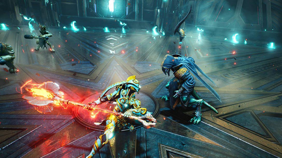 Подготовьтесь к битве: подробности о боевых приемах Godfall