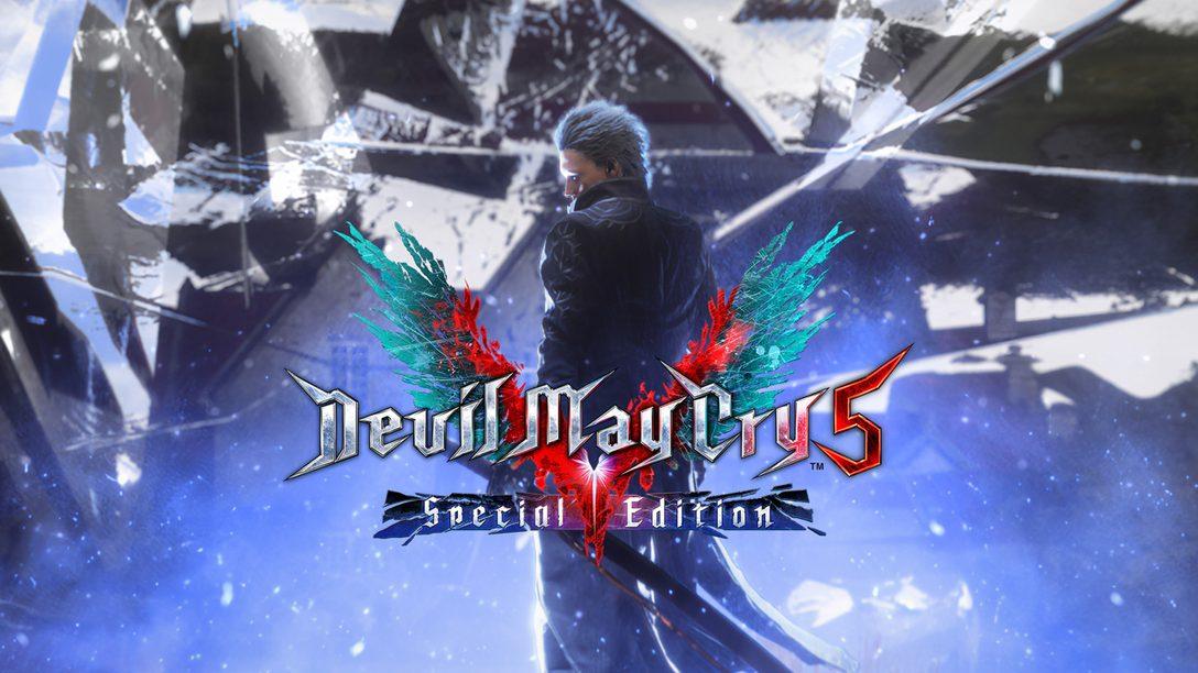 Специальное издание Devil May Cry 5 готовится к выходу на PlayStation 5