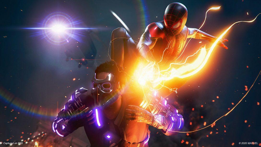 Смотрите новый ролик игрового процесса «MARVEL Человек-Паук: Майлз Моралес»