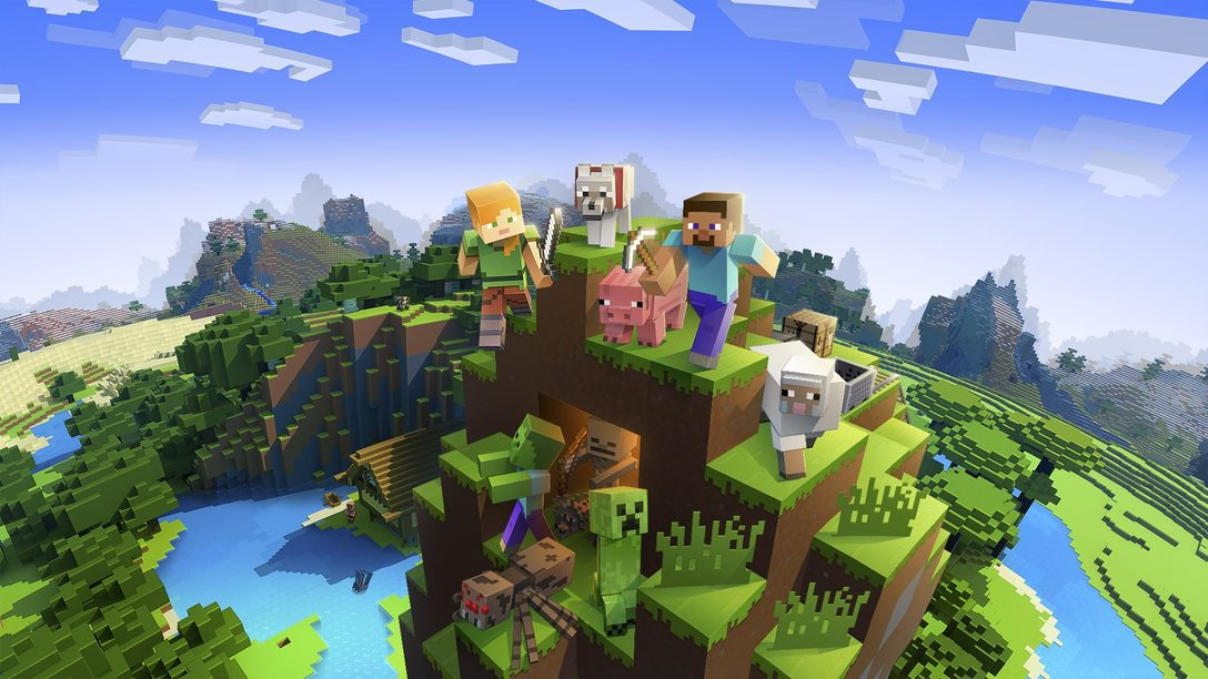 Поддержка PS VR появится в Minecraft в сентябре