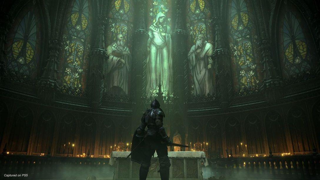 Новое видео игрового процесса Demon's Souls покажет боссов, локации и многое другое