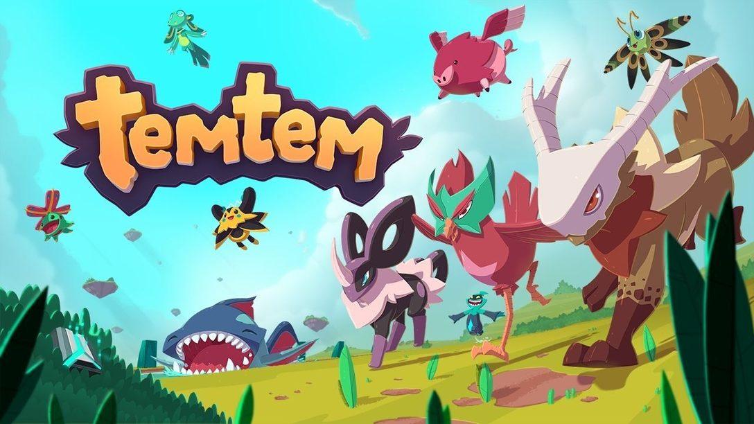 Эксклюзивный выход TemTem на PS5 знаменует дебют игры на консолях