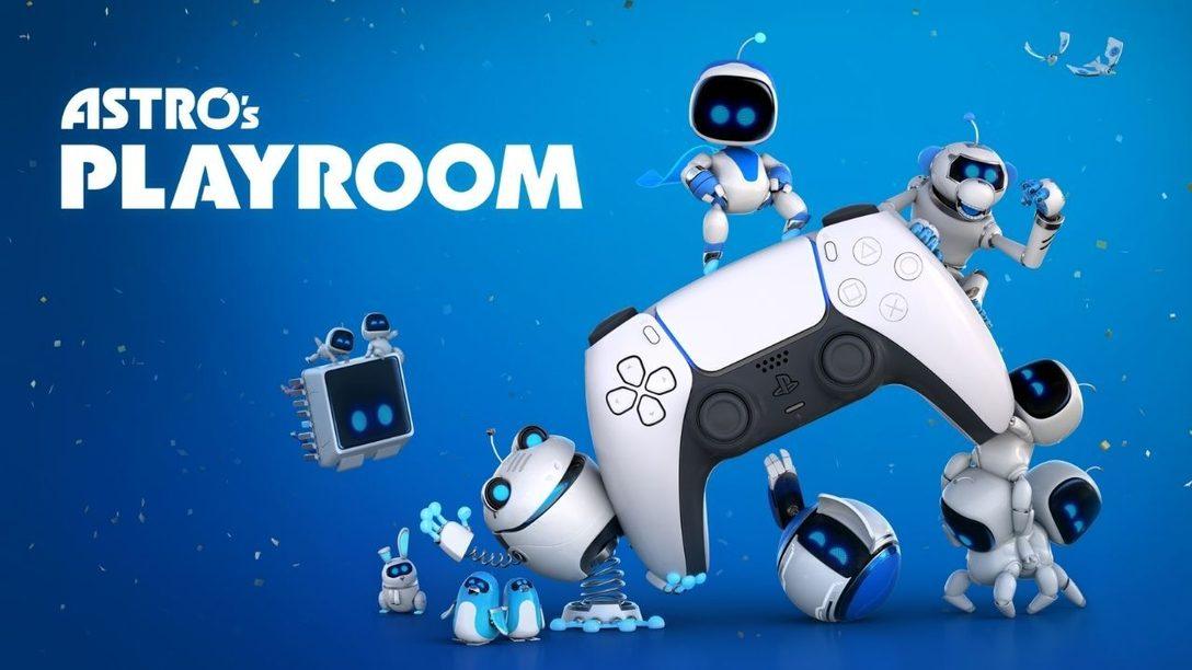 Испытайте мощь беспроводного контроллера DualSense в Astro's Playroom