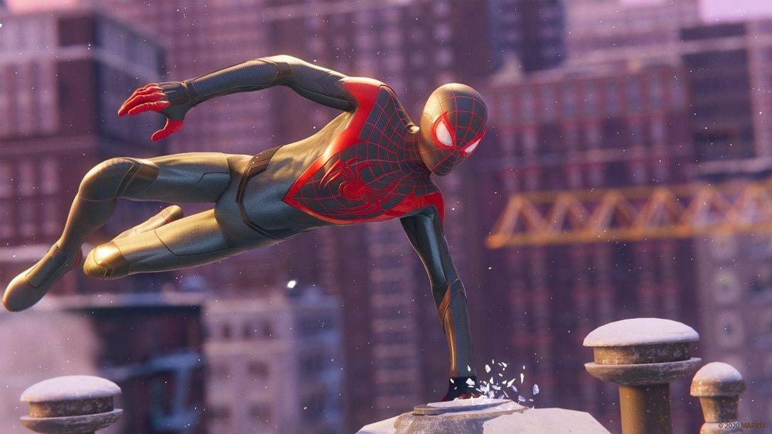 На этой неделе «MARVEL Человек-Паук: Майлз Моралес» выходит на PS4 и PS5