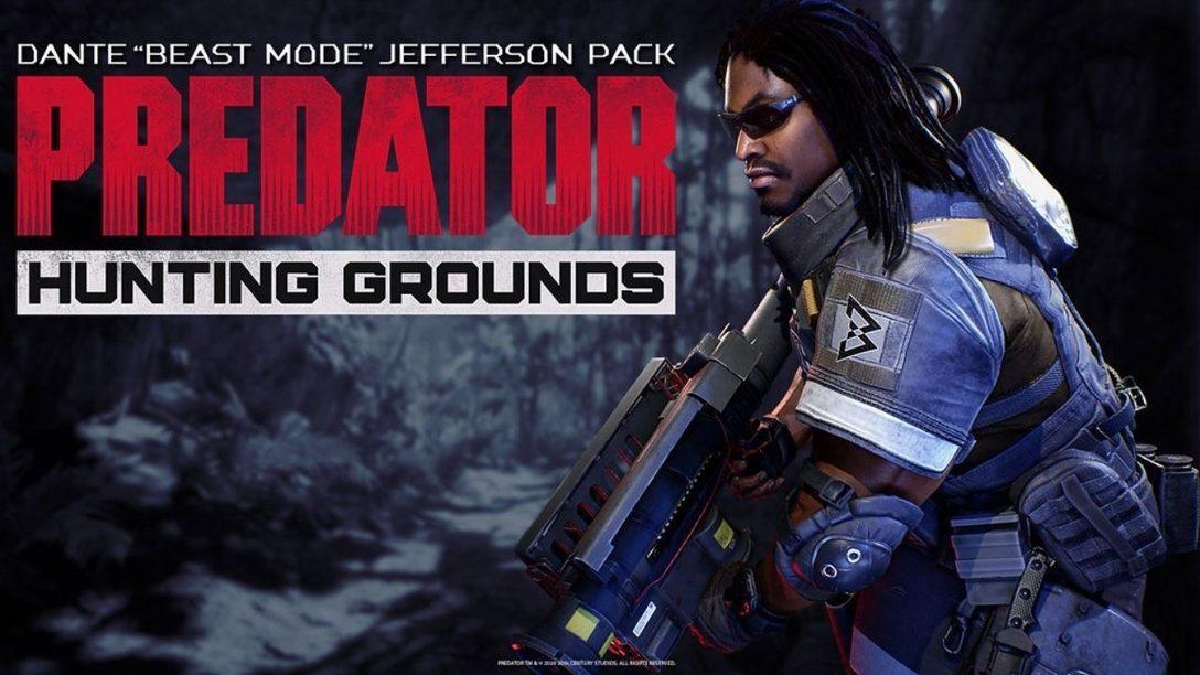 Маршон Линч прибывает в игру Predator: Hunting Grounds как Данте Джефферсон (Зверь)