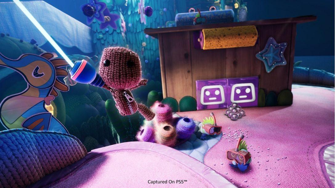 Главная тема Мира творчества – музыка в игре «Сэкбой: Большое приключение»